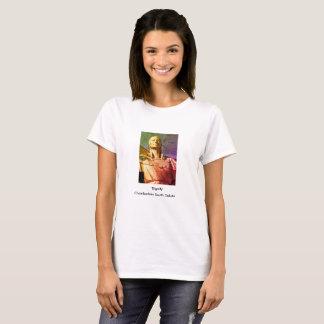 Ureinwohner-Frauen-Statue T-Shirt