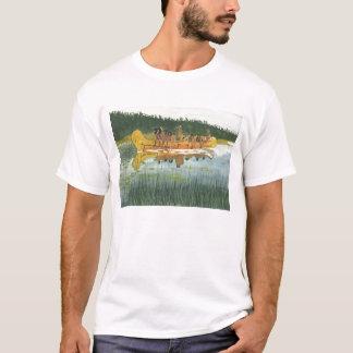 Ureinwohner-Kanu T-Shirt