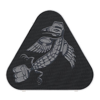 Ureinwohner-Krähenentwurf - Schwarzes Bluetooth Lautsprecher