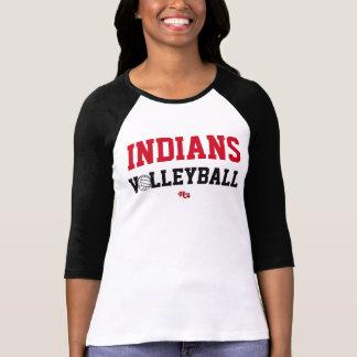 Ureinwohner-Volleyball-Stolz-Abnutzung (Frauen) T-Shirt