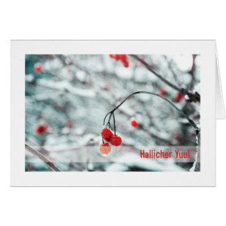 Urglaawe Yuul Karte:: Winter-Beeren Karte