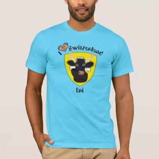 Uri Suisse Svizzera Svizra Switzerland de Suisse T-shirt