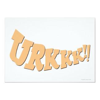 URKKK!! PERSONALISIERTE EINLADUNGSKARTEN