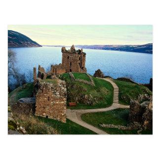 Urquhart Schloss, Loch Ness, Schottland Postkarte