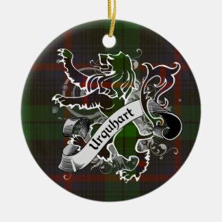 Urquhart Tartan-Löwe Keramik Ornament