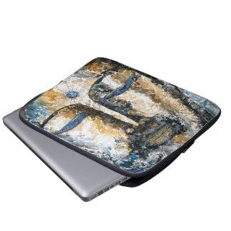 Ursprüngliche Aquarell-Zen-Buddha-Laptop-Hülse Laptop Sleeve