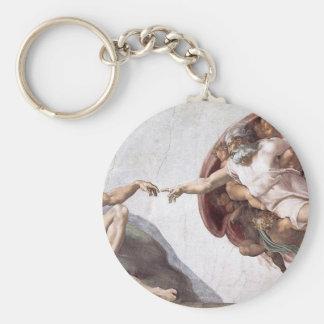 Ursprüngliche Michelangelo-Farbe in sistin Kapelle Schlüsselanhänger