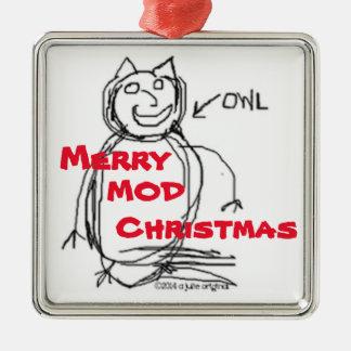 Ursprüngliche Weihnachtsverzierung 2015 Julie Silbernes Ornament