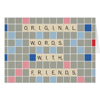 Ursprüngliche Wörter mit Freunden Karte