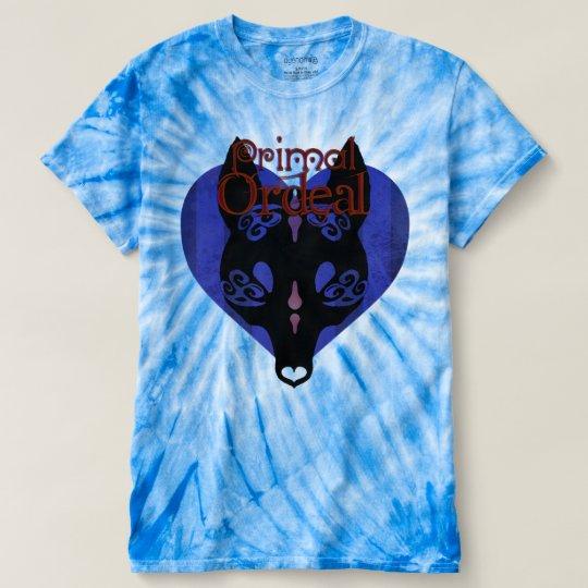 Ursprüngliche Zerreißprobe-psychedelische Spirale T-shirt