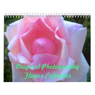 Ursprünglicher Fotografie-Blumen-Kalender Kalender