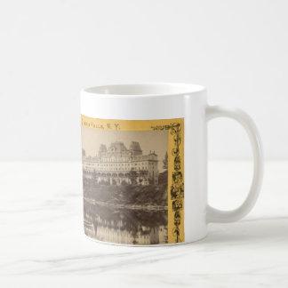 Ursprünglicher See George, NY Fort William Henry Kaffeetasse