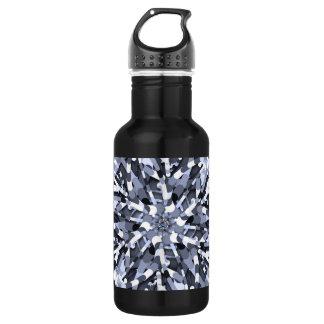 Ursprüngliches Ei - multi Farbabstrakte Explosion Trinkflasche