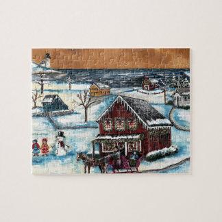 Ursprüngliches Neu-England Weihnachten