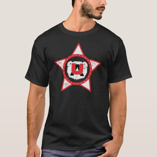 ursus zerschellt arcto weiß T-Shirt