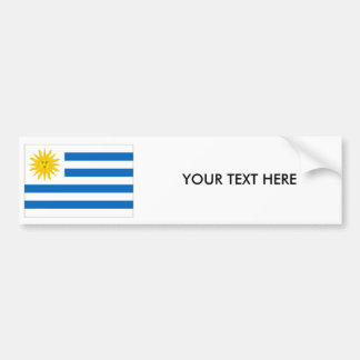 URUGUAY-FLAGGE Autoaufkleber