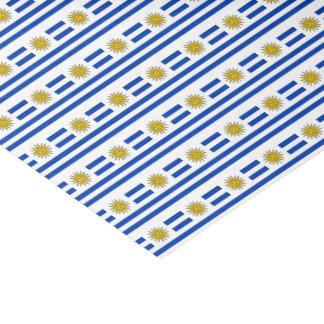Uruguay-Flagge Seidenpapier
