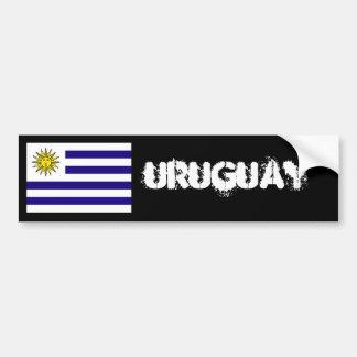 Uruguay-Flaggen-Autoaufkleber 2 Autoaufkleber