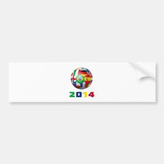 Uruguay-Fußball 2703 Autoaufkleber