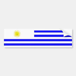 Uruguay-Landesflaggenationssymbol Autoaufkleber
