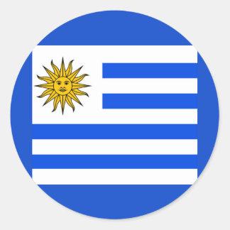 Uruguay Runder Aufkleber