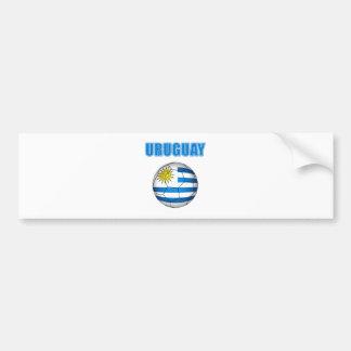 Uruguay Socccer 2010 T-Shirts Autoaufkleber