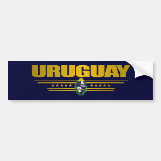 """Uruguay-Stolz "" Autoaufkleber"