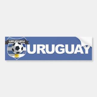 Uruguay-Team-Autoaufkleber Autoaufkleber