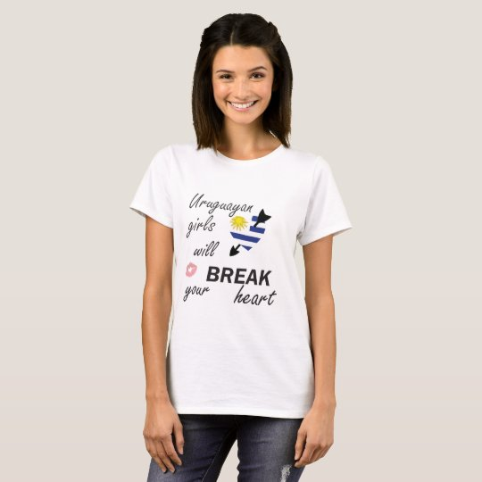 Uruguayischer Heartbreaker T-Shirt