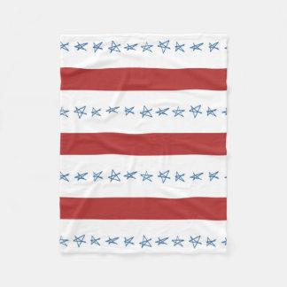 US Flagge-Decke Fleecedecke