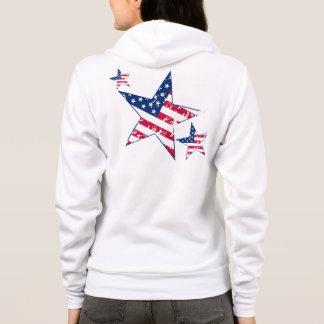 US Flagge Hoodie