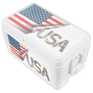 US-Flagge Kühlbox