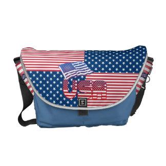 US-Flaggenbotetaschen Kuriertaschen