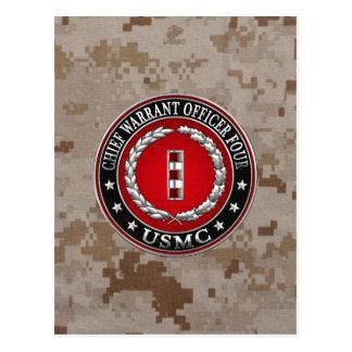 US-Marinesoldaten: Hauptermächtigung vier (USMC Postkarte
