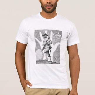 US-Marinesoldaten -- Uncle Sam Rechte Hand T-Shirt