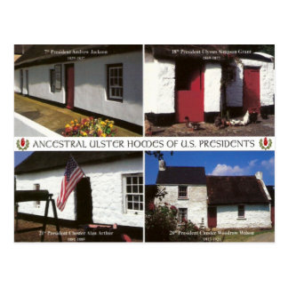 US-Präsidentengehöfte in Ulster Postkarte
