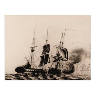 US-Schiff Wespe Postkarte
