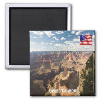 US - USA - Arizona - Gran Schlucht - Panorama Quadratischer Magnet