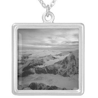 USA, Alaska, Denali Nationalpark, Luftaufnahme 2 Versilberte Kette