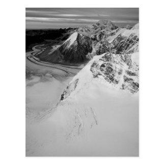 USA, Alaska, Denali Nationalpark, Luftaufnahme Postkarte
