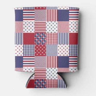 USA-AmericanaPatchwork-rotes weißes u. blau