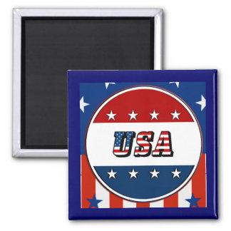 USA - Amerikanische Flagge spielt Magneten des