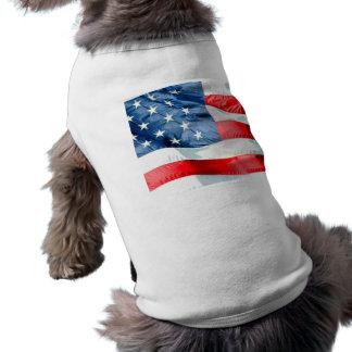 USA ÄRMELFREIES Hunde-Shirt