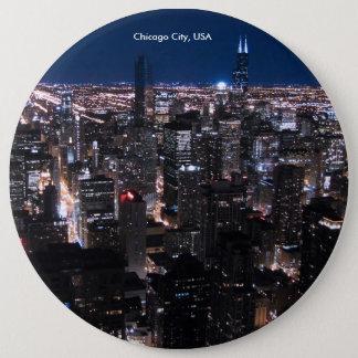 USA-Bild für kolossales rundes Abzeichen, Runder Button 15,3 Cm