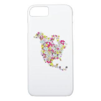 USA-Blumen iPhone 8/7 Hülle