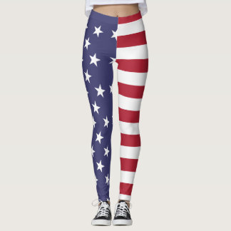 USA bluten voll Leggings