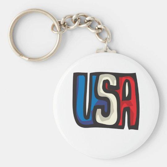 USA-Entwurf Schlüsselanhänger