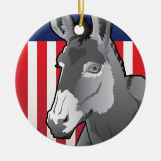 USA-Esel, Demokrat-Stolz Keramik Ornament