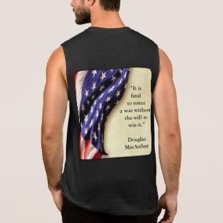 USA-Flagge Ärmelloses Shirt