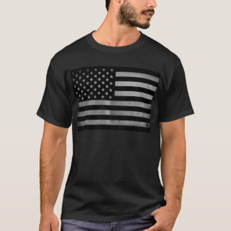 USA-Flagge BW T-Shirt